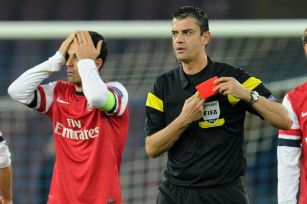 Mikel Arteta Red Card: How Arsenal Will Cope in Star's Absence