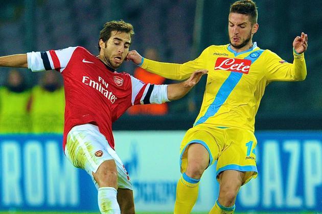 Napoli vs. Arsenal: Champions League Live Score, Highlights, Recap