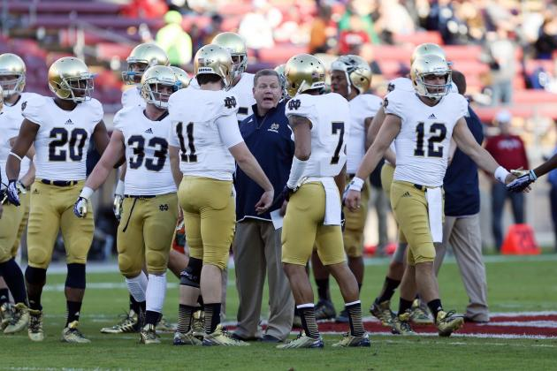Notre Dame Football: Irish's 2014 Schedule Announced