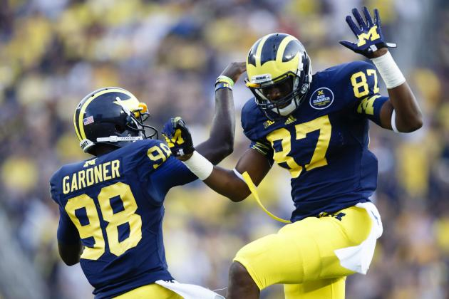 Michigan Football: What's the Future of Michigan's WR Corps?