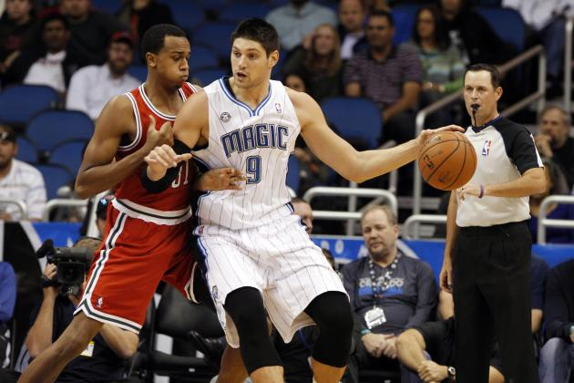 Injured Nikola Vucevic Forgets Suit Jacket for Road Trip, Suffers Consequences