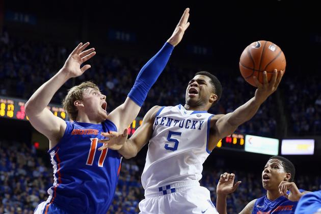 Kentucky Basketball: How Concerning Is Andrew Harrison's Lack of Production?