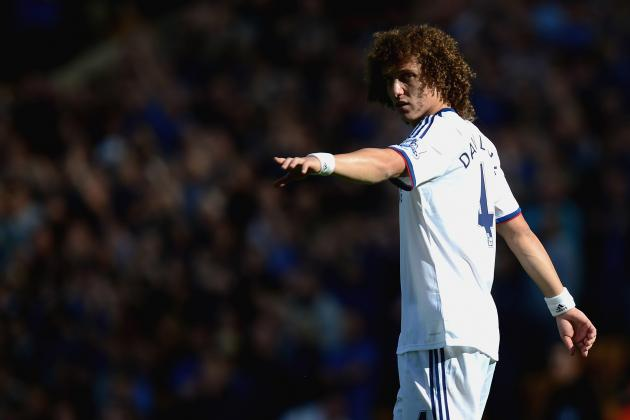 Chelsea Transfer Rumours: David Luiz Reportedly Not in Jose Mourinho's Plans