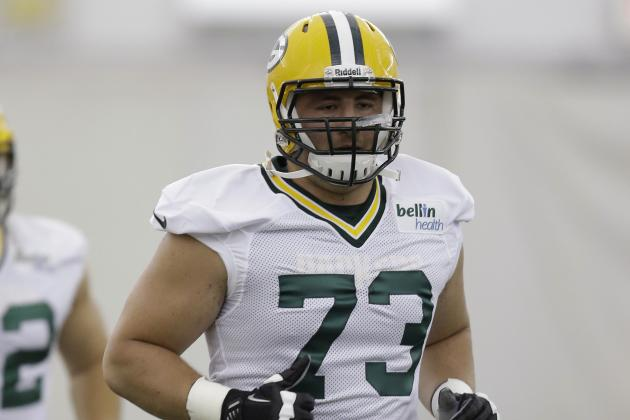 On the Roster, Rookie JC Tretter Ready to Play If Needed