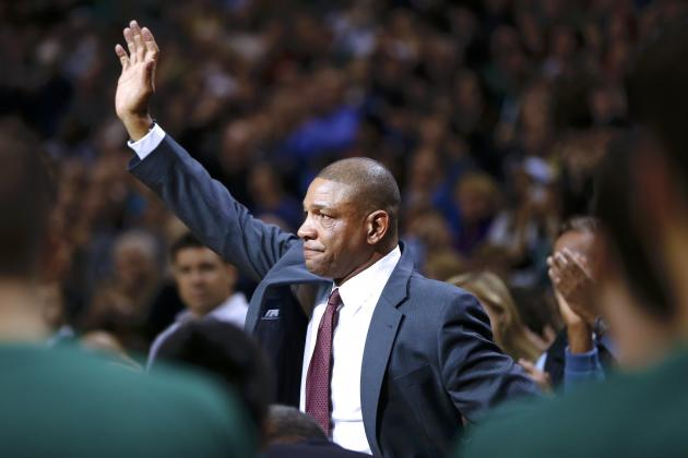 Doc Rivers Honored by Celtics in Boston Return