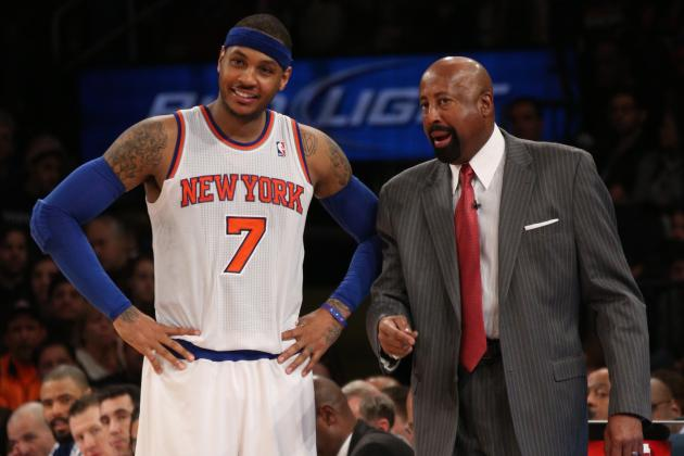 Melo: Woodson 'Can't Worry About' Status