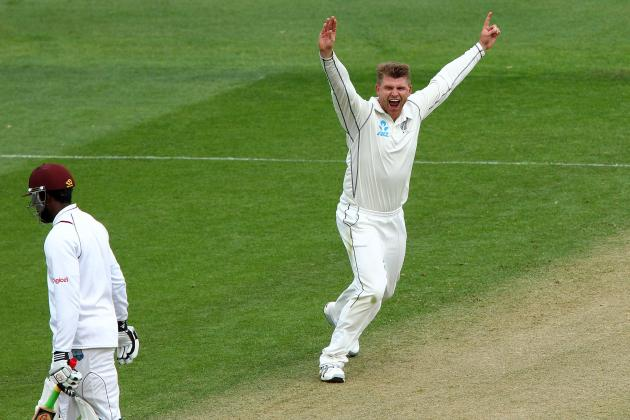 New Zealand on Top of West Indies After Day 2