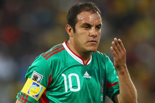 Attacker Cuauhtemoc Blanco Set to Retire Following '14 Mexican Clasura