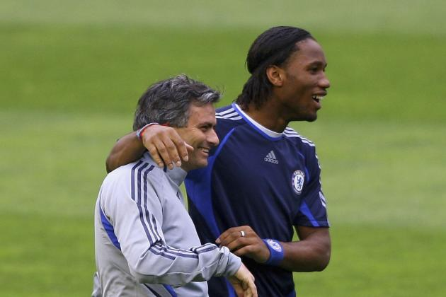 Jose Mourinho Wants Didier Drogba Chelsea Reunion as Laser Attacker Is Arrested