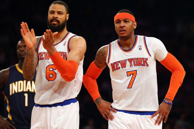 Tyson Chandler's Return Is Last Best Hope for NY Knicks