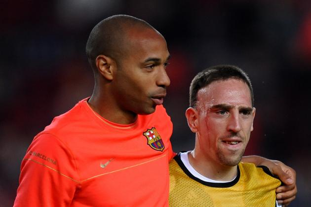 Cristiano Ronaldo, Lionel Messi and Franck Ribery Assessed by Thierry Henry