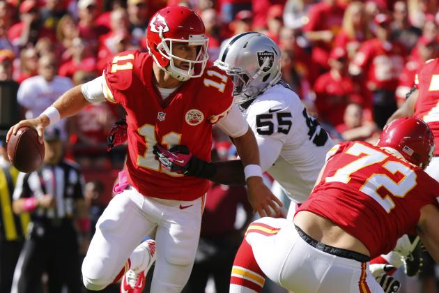 Chiefs vs. Raiders: Breaking Down Oakland's Game Plan