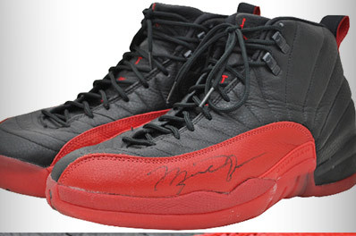 Michael Jordan's Flu Game Shoes Sell for More Than $100,000