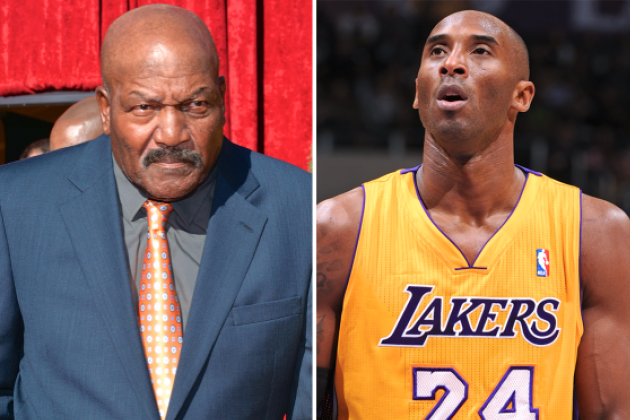 NFL Hall of Famer Jim Brown: Kobe Bryant Confused by American Culture
