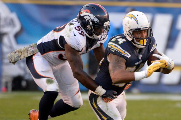 Five Key Matchups: Broncos vs. Chargers