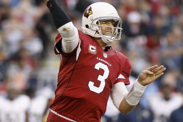 Cardinals' Carson Palmer Back at Practice; John Abraham Honored