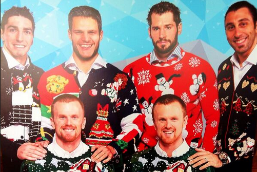 5 Reasons to Love This Canucks Ugly Christmas Sweater Photo