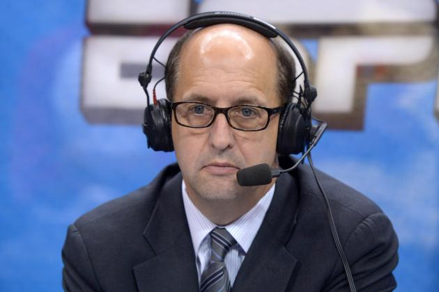 ESPN Reportedly Pulled Jeff Van Gundy off Knicks Game with Woodson on Hot Seat