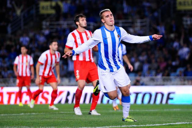 Scouting Report: Arsenal Target Transfer for Real Sociedad's Antoine Griezmann
