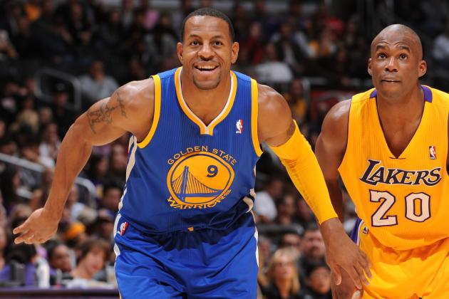 Andre Iguodala Surprises Fan With Final Pair of Warriors Season Tickets