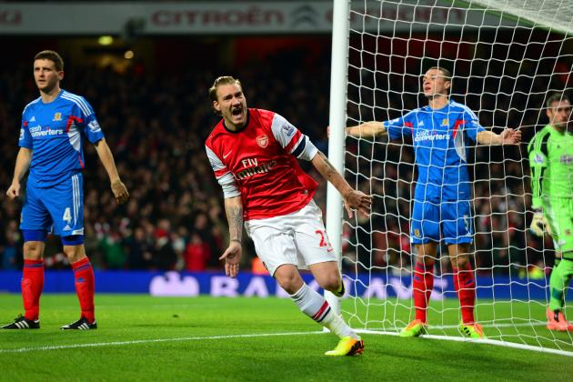 Can Nicklas Bendtner Win Arsenal Fans Over?