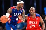 LeBron, Durant, Kobe Top 1st Round of All-Star Voting
