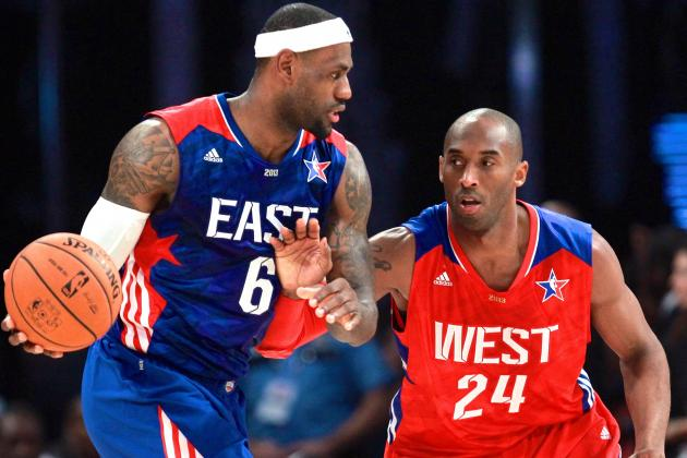 LeBron James, Kevin Durant, Kobe Bryant Top 1st Round of 2014 NBA All-Star Polls