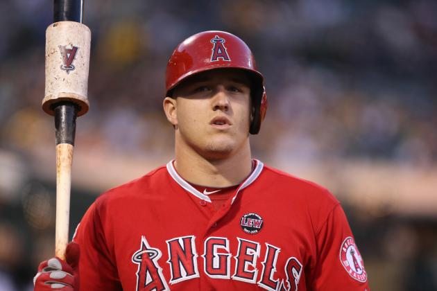 Scioscia Leans Toward Keeping Trout Second in Lineup