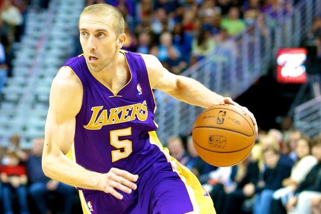 Steve Blake Injury: Updates on Lakers PG's Elbow and Return