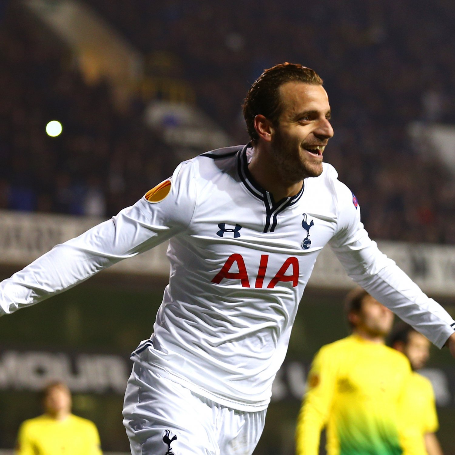 GIF: Soldado Scores Hat-Trick As Tottenham Ease Past Anzhi