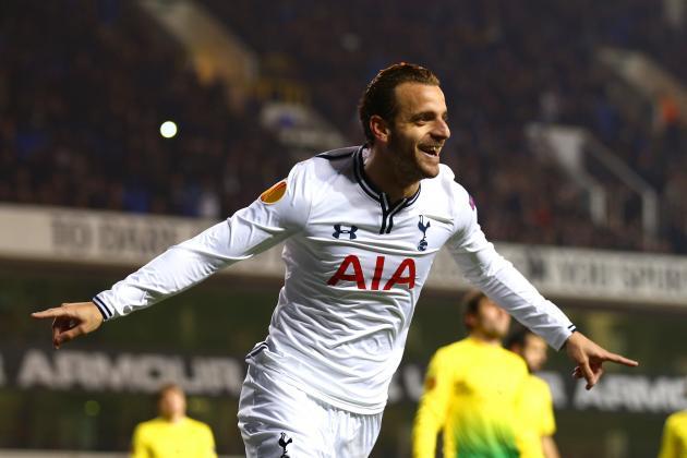GIF: Soldado Scores Hat-Trick as Tottenham Ease Past Anzhi Makhachkala