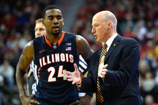 Illinois Basketball: Transfers Ekey and Rice Making Presence Known for Illini