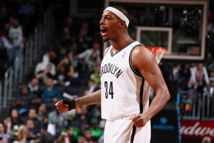 Nets to Bring Pierce off Bench Against Clippers
