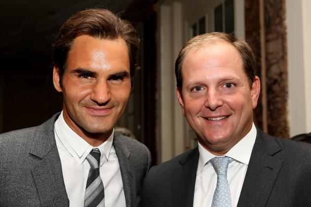 Roger Federer Launches Management Firm with His Agent