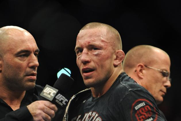 Dana White, Georges St-Pierre to Hold