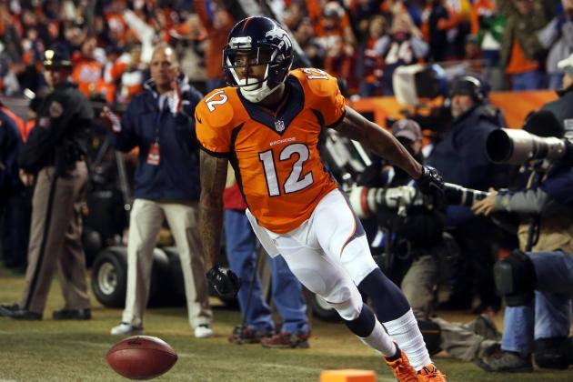 Andre Caldwell's Instant Fantasy Reaction for 2013 Fantasy Playoffs