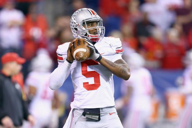 Braxton Miller Wins Silver Football, Still Considering NFL Draft