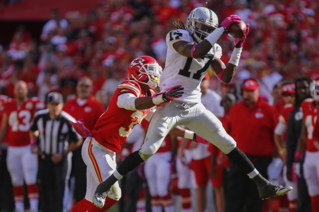 Dissecting Most Crucial Matchups in Oakland Raiders' Week 15 Contest with Chiefs