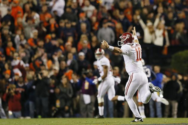 Alabama Football: Replacing AJ McCarron Will Be Critical for 2014 Season