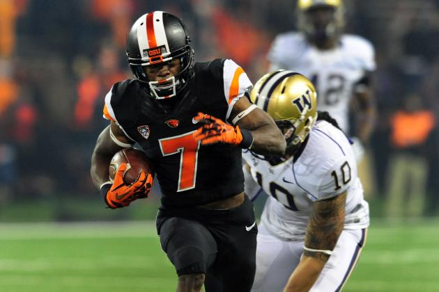 Biletnikoff Award Goes to Oregon State's Brandin Cooks
