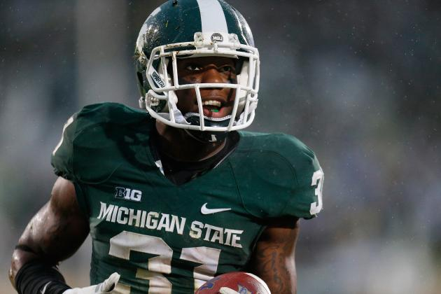 Michigan State's Darqueze Dennard Wins Jim Thorpe Award