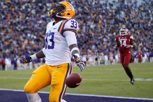 LSU RB Jeremy Hill Should Dominate the Outback Bowl vs. Iowa