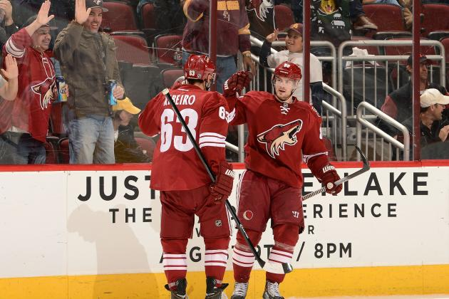 With Key Players Out, the Phoenix Coyotes Benefit from a Strong Bench