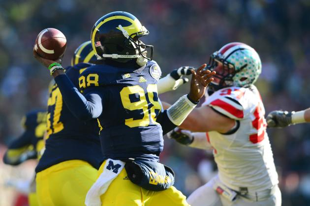 Michigan Football: Comparing Devin Gardner's 2012 Season to 2013 Campaign