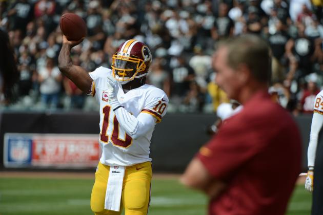 Benching of RG3 Exposes Major Flaws in Washington Management