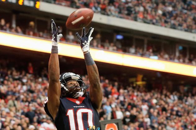 Season of Hope for Texans Rookie Hopkins Turns into One of Despair