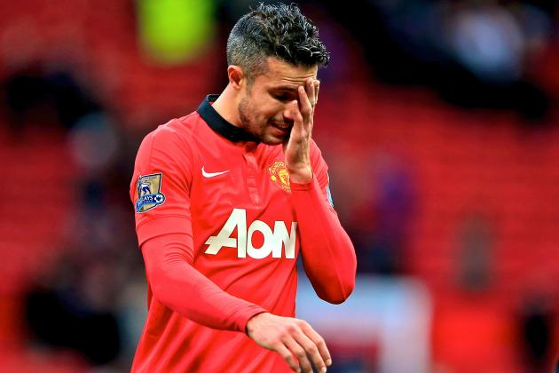 Robin Van Persie Injury: Updates on Man United Star's Thigh and Return