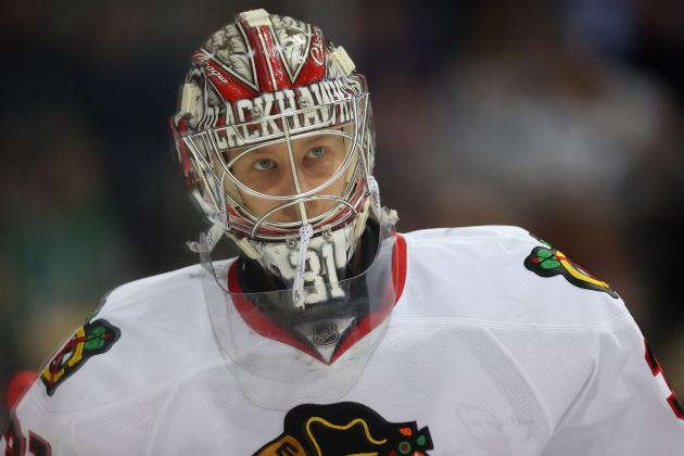 Chicago Blackhawks: Relying on Antti Raanta Until January