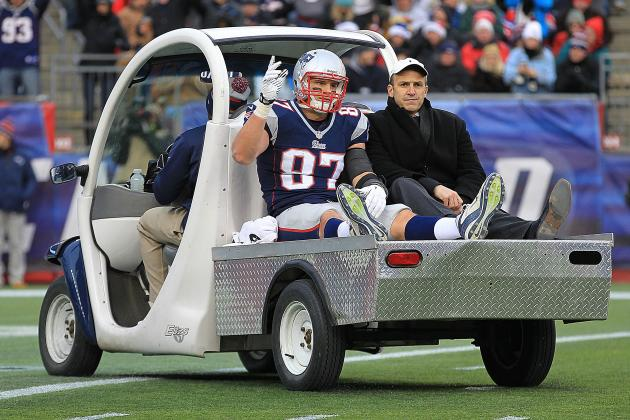 Injured Gronkowski Will Still Be in
