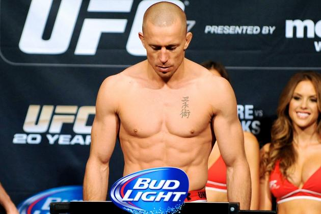 Report: Georges St-Pierre Takes Indefinite Leave, Gives Up Welterweight Belt